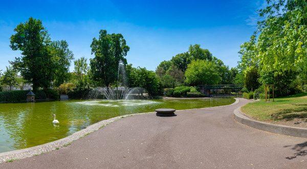 Jardín Lecoq, en Clermont Ferrand