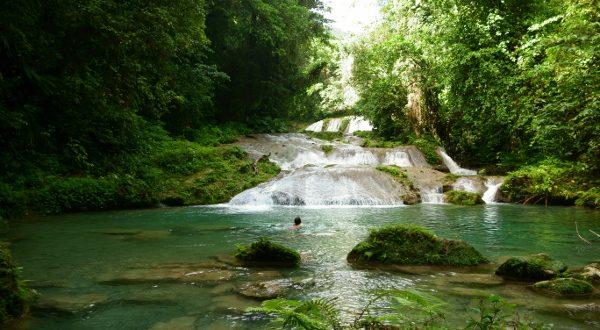 Cascadas del Dunn, en Jamaica