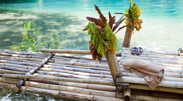 Rafting Village, en Jamaica